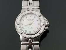 Raymond Weil Parsifal Ladies Stainless Steel Watch with Genuine Diamonds Dial.