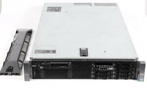 Dell PowerEdge R710 Server Xeon E5640 2.6GHz 12GB RAM Front Bezel Key