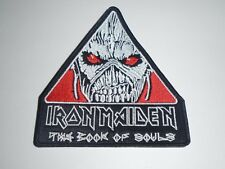 IRON MAIDEN THE BOOK OF SOULS EMBROIDERED PATCH