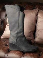 El Naturalista Black Leather Ladies Funky Boots! Size 39, Fab!