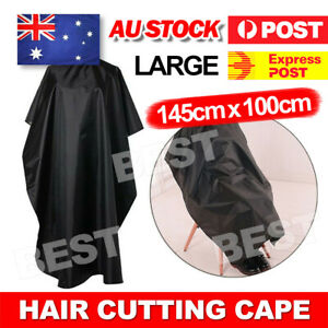 Hair Cutting Cape Hairdressing Nylon Styling Pro Salon Barber Gown Cloth AU