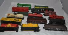 LOT OF 16  HO FREIGHT CARS.. TYCO..LIFE LIKE 4 FOR REPAIR PARTS