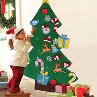 US Kids Children DIY Felt Christmas Tree Ornament Gift 2018 New Year Xmas Decor