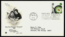 #3184f 32c Emily Post's Etiquette, PCS FDC **ANY 4=FREE SHIPPING**