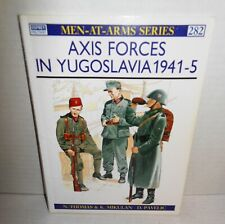 BOOK Osprey Men-at-Arms MAA #282 Axis Forces in Yugoslavia 1941-5 Reading Copy