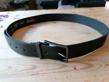 "New BNWOT Marks & Spencer M&S Black English leather mens belt  34 - 36"""