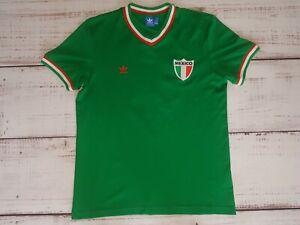 RETRO Adidas Mexico Home 1970 Football Shirt Jersey Trikot Camiseta size Large
