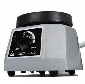 "Dental Lab Oscillator 4"" Round Shaker Heavy Duty Platform Vibrator plaster DT2"