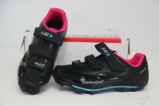New Womens Louis Garneau Multi Air Flex Bike Shoes 39 8 Black Cycling 2-Bolt MTB