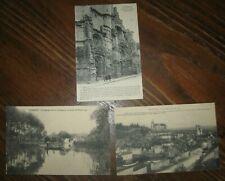 3 cartes postales anciennes : TONNERRE 89 - 2 vierges - 1 postée