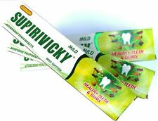 2 Pcs, 110g SUPIRIVICKY Ayurvedic Herbal Non Fluoridated Siddhalepa Toothpaste