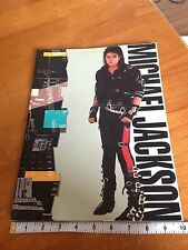 MICHAEL JACKSON 1988 BAD Tour Concert Program Souvenir Book