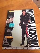 MICHAEL JACKSON 1988 BAD Tour Concert Program Souvenir Book