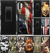 For Samsung Galaxy Note 10/Note 10+ Plus Phone Case Cover with Holster Belt Clip