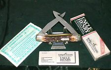 Schrade 877 Muskrat Trapper 90's Rare Liner Lock Guthook W/Packaging,Papers Rare