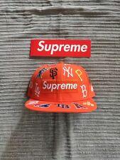 Supreme mlb new era cap