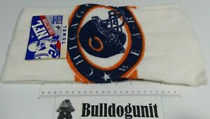 New Vintage NFL Collection Chicago Bears Football Diana White Kitchen Hand Towel