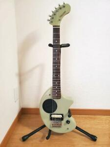 Fernandes ZO-3 6 Strings Dot Inlays Ivory Electric Guitar Shipped from Japan