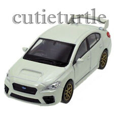 "4.5"" Welly 2015 Subaru WRX STi Diecast Toy Car 43693D White"