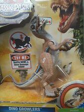 Jurassic Park Velociraptor Dinosaur Dino Growlers Exclusive Jurassic World Nib
