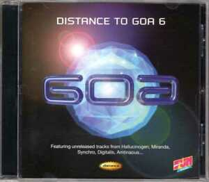 Compilation - Distance To Goa 6 - CD - 1997 - Trance Goa Psy-Trance
