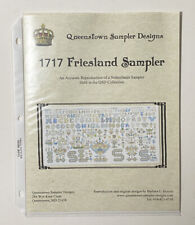 Queenstown Sampler Designs Cross Stitch Pattern/Chart 1717 Friesland Sampler