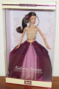 Katiana Jimenez Designer Spotlight Barbie Doll #B0836 NRFB 2002 Limited Edition