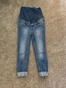 Mama (h&m) Skinny Size 8 Medium Wash Denim Jeans