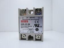 Relè statico a stato solido 25A 220V 380V con primario da 3v a 32v ssr-25 da