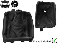 BLACK STITCH SHIFT BOOT+PLASTIC FRAME FOR CHEVROLET CAMARO TRANS AM 93-96