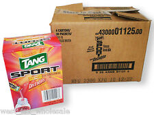 Tang Sport Fitness Drink Water Mix Fruit Punch Sugar Free 4 Cases (480 packs)