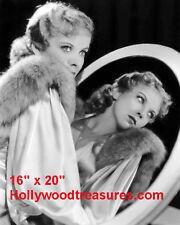 "Ida Lupino~Hair Salon~Spa~Photo~Decor~Stylist~Poster~16"" x20"""