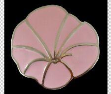 Belt Buckle Pink Rose In Bloom Flower Blooming Detailed Rose Boucle de Ceinture