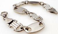 Steigbügelkette 925 Silber Armreif Armband 23 Armkette Panzerkette Plattenkette