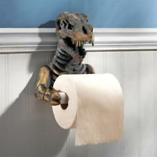 JQ9551 T. Rex Dinosaur Skeleton Bathroom Toilet Paper Holder