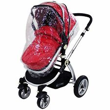 Raincover For iSafe Pram System Stroller & Carry Cot Mode