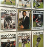 Topps American Football Trading Card NFL Raiders Player Pictures