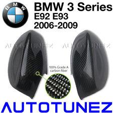 100% Carbon Fiber Side Mirror Cover For BMW 3 Series E92 E93 Car Vacuum Bagging