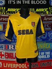 5/5 Arsenal adults XL 1999 MINT away football shirt jersey trikot soccer