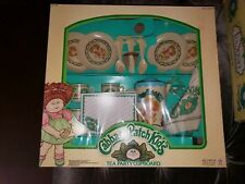 "1984 Vintage CABBAGE PATCH KIDS"" TEA PARTY CUPBOARD. RARE!"