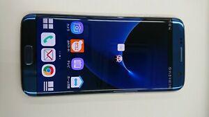 SAMSUMG Galaxy S7 Edge SC-02H  -32GB- Blue(docomo SIM Locked)  AK06-003  03/03