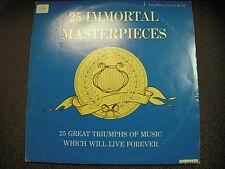 25 Immortal Masterpieces Vinyl LP