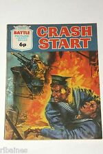 Battle Picture Library Comic, Number 549, Crash Start, British Pocket