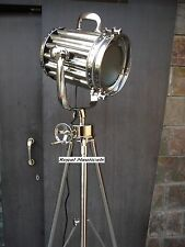 New Model Spotlight With Chrome Tripod Stand And Chrome Searchlight Decorative