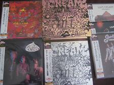 CREAM WHEELS OF FIRE RARE EXACT REPLICA TO ORIGINAL LP IN JAPAN OBI 7 CD Box Set