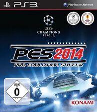 PES 2014 - Pro Evolution Soccer < Playstation 3 > wie neu