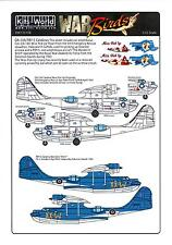 Kits World Decals 1/72 OA-10A PBY-5 CATALINA Miss Pick Up & Wanderin' Witch