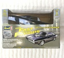 Revell The Fast and the Furious Die Cast 1970 Dodge Charger Car 1:25 Scale Model