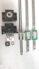 2 x MGN12--500 mm Miniature Linear Rail&RM1204--500mm Ballscrew &BF10/BK10 Kit