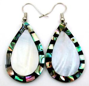 Nacre Earrings BTVO45 Abalone Jewelry Shell Jewelry,Seashell Earrings